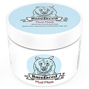 BeBarefaced Totes Meer Schlamm Gesichtsmaske Aus der #1 natürlichen Quelle - Anti-Aging Pickel Mitesser Behandlung für alle Hauttypen