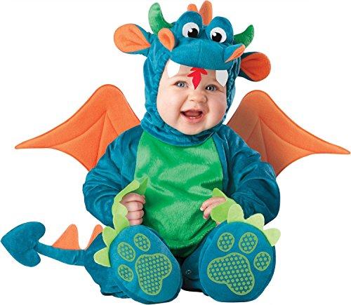 InCharacter - Drachen-Kostüm für Babys - 12-18 (Gesicht Kuh Kostüm)