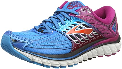 Brooks Glycerin 14 Scarpe Running Donna, Multicolore (Blau/Violett) 37.5 EU
