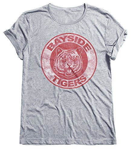 Bayside Tigers Mens & Ladies Retro Unisex Fit T-Shirt