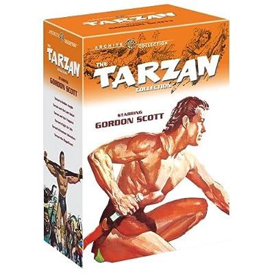 The Tarzan Collection Starring Gordon Scott (Tarzan's Hidden Jungle / Tarzan and the Lost Safari / Tarzan and the Trappers / Ta