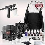Maximist Pro TNT 'MEGA' Spray Bronceado Kit + Tienda de campaña, Solutions & Mucho Más