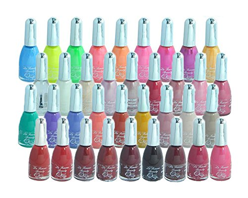 La Femme - Nail Paints 36 Pack - Mixed Shades