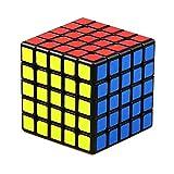 JIAAE 5X5 Puzzle Rubik Cubo De Inteligencia Profesional De La Competencia Rubik Niños Juguetes De Educación Temprana,Black