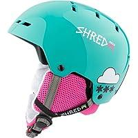 Shred niña Bumper Mini Helmet, invierno, niña, color Air Mint, tamaño medium