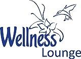 GRAZDesign 650064_30_086 Wandtattoo Wellness Lounge | Badezimmer-Wände mit Aufkleber gestalten | WC/Toilette (41x30cm//086 brillantblau)