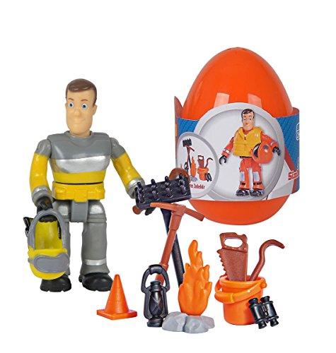 Simba 109251027 - Feuerwehrmann Sam Einzelfigur mit Zubehör, -