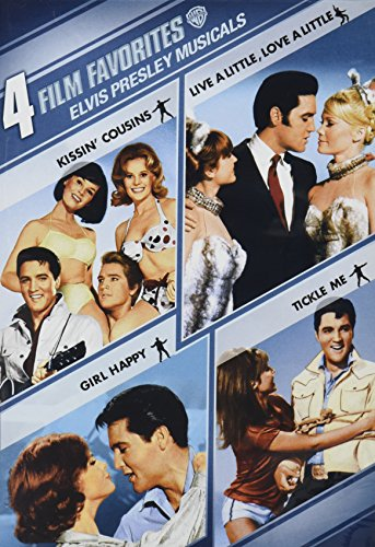 4 Film Favorites: Elvis Presley Musicals (Girl Happy / Kissin' Cousins / Live a Little, Love a Little / Tickle Me) (4 Film Favorites Dvd)