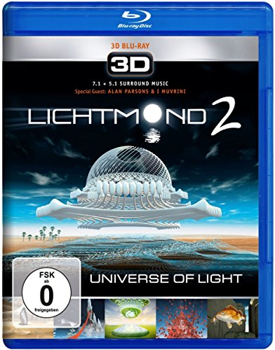 Lichtmond 2 - Universe of Light 3D [Blu-ray] -