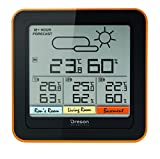 Oregon Scientific RAR502 Stazione Meteo Multizona con 3 Sensori Remoti, Nero, 13.4x2.7x13.4 cm