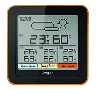 Oregon Scientific RAR 502 Multi-Channel Wetterstation, schwarz (B016BJ7KZQ)   Amazon Products