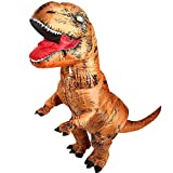 Aufblasbare Dinosaurier T-Rex Kostüm Party Fancy Kleid Cosplay Outfit mit Batterie betriebenen Ventilator