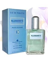 Blueberry's - Parfum Homme generique / Inspiré par la prestigieuse parfumerie de Luxe / Eau De Toilette 100ml...