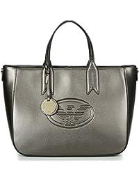 Emporio Armani Women s Shoulder Bag grigio acciaio 9ea983ad0f47b