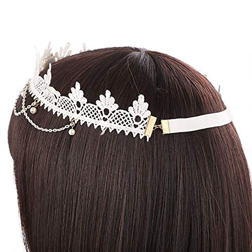Zoom IMG-1 ningbao651 halloween lace ribbon hair