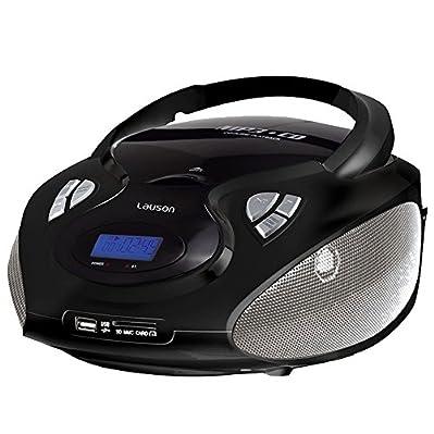 Non potrai credere ai tuoi occhi o le orecchie. Questa radio stereo CD è compatto,  trendy, elegante e moderno, in breve, un vero e proprio eye-catcher.  Ma si può fare di più solo guardare bene, perché dietro il design elegante nasconde la t...
