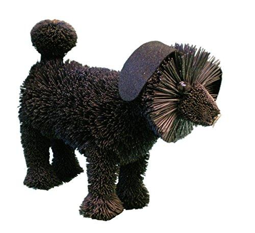 'Brush Art' sostenibile Model Animal-Black Poodle Dog - Black Art Corsa