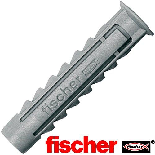 100 Stück Fischerdübel SX 6 aus Nylon (Ø = 6mm) mit 4-fach Spreizung