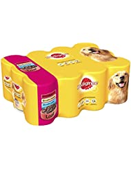 Pedigree Dog Tins Mixed Selection in Loaf, 4800 g