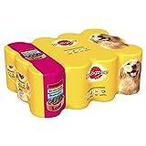 Pedigree Dog Tins Mixed Selection in Loaf, 4800 g