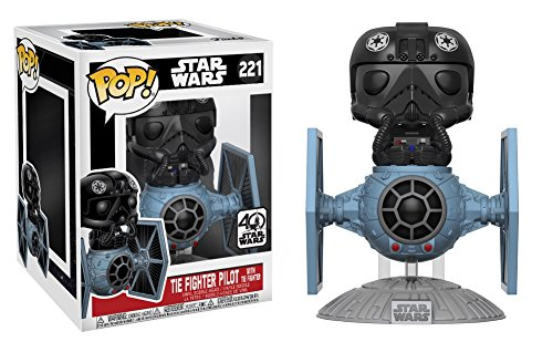 Star Wars Figura de vinilo Tie Fighter with Tie Pilot (Funko 20106)