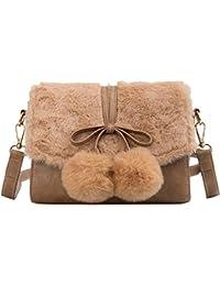 RFVBNM Autunno e inverno borsa piccola borsa moda femminile pelliccia moda  borsa a tracolla Borsa a bec19e0abd5