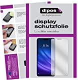 dipos I 6X Schutzfolie klar passend für Xiaomi Mi 8 Lite Folie Bildschirmschutzfolie