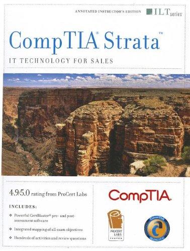 CompTIA Strata: IT Technology for Sales and CertBlaster (ILT) por Axzo Press