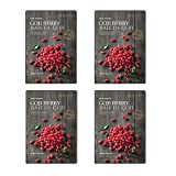 #7: The Face Shop Real Nature Face Mask, Goji Berry, 20g (Pack of 4)