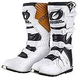 ONEAL 2015 Enfants Bottes De Motocross - Rider US - Blanc: Taille bottes: 6 / 38