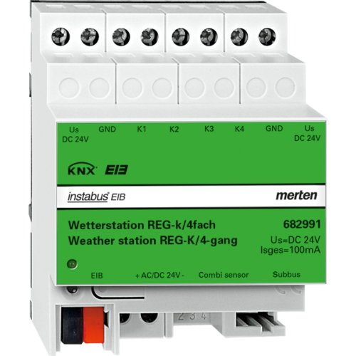 Price comparison product image Merten REG-K 682991 Weather Station with 4 Sensors Light Grey