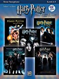 Harry Potter Movies 1-5, w. Audio-CD, for Tenor Saxophone (Harry Potter Instrumental Solos (Movies 1-5): Level 2-3) (Pop Instrumental Solo Series)