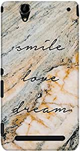 DailyObjects Smile Love Dream Case For Sony Xperia T2 Ultra
