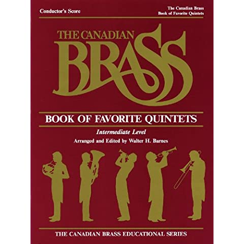 Canadian Brass Book Of Favorite Quintets - Conductor