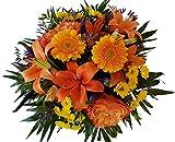 Üppiger Blumenstrauß | Perfekte Überraschung | 1A Qualität | vom MEISTERBETRIEB | unser,Strahlemann, ist ideal zum VERSCHENKEN, AUFMUNtERN & ÜBERRASCHEN