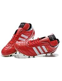 yurmery zapatos–botas de fútbol Kaiser 5Liga de fútbol FG–rojo
