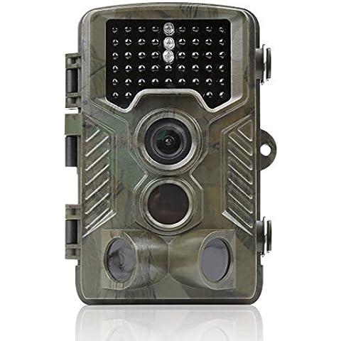 Distianert Cámara de Caza de Infrarrojos 12MP 1080P Rango de Detección 25m Visión Nocturna 20m Impermeable