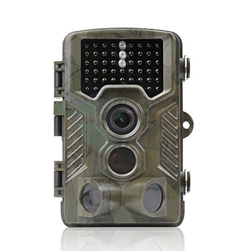 Distianert Cámara de Caza de Infrarrojos 12MP 1080P Rango de Detección 25m Visión Nocturna 20m Impermeable IP56