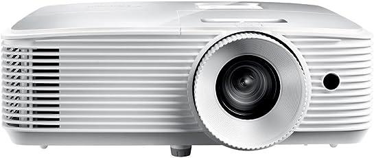 Optoma HD27e DLP Projektor (Full HD, 3400 Lumen, 25.000:1 Kontrast, 3D, Zoom 1,1x)