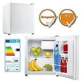 leistungsfaehiger frigorifero, 45liter include 5liter Freezer, classe di efficienza energetica A +, Bianco