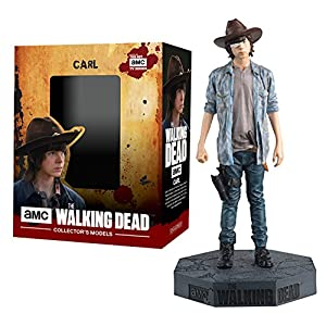 Figura de plomo y resina The Walking Dead Collector's Models Nº 27 CARL GRIMES 11