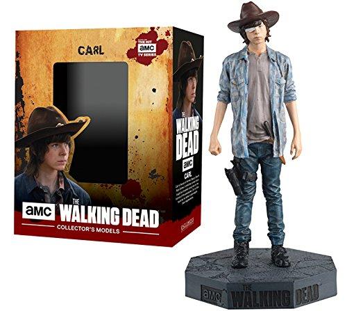 Figura de plomo y resina The Walking Dead Collector's Models Nº 27 CARL GRIMES 1