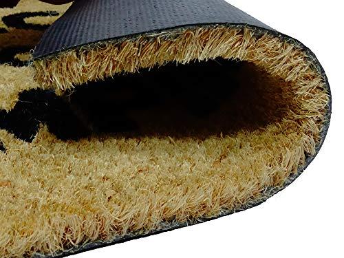 51hvGEIKJjL - koko doormats Felpudo de Star Wars para Entrada de Casa Original y Divertido/Fibra Natural de Coco con Base de PVC, 40x60 cm (A-Welcome to my Empire)