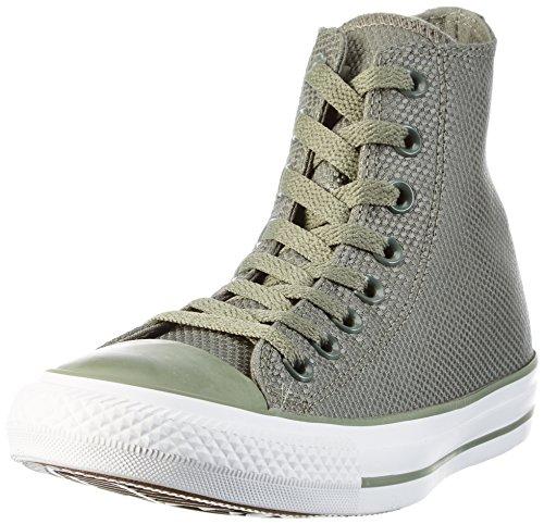 Converse Unisex-Erwachsene Tech Deboss Hohe Sneaker Mehrfarbig (Olive Submarine/White/Brown)