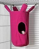 Rodents Residence Zylinder Kuschelhängematte (Pink)
