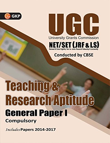 UGC NET/SET (JRF & LS) Teaching & Research Aptitude General Paper - I 2018