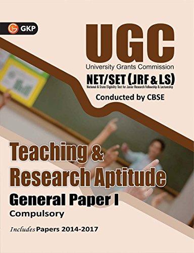 UGC NET/SET (JRF & LS) Teaching & Research Aptitude General Paper - I 2018
