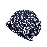 YiLianDa Baumwolle Herbst Hut Unisex Mode Das Kopftuch Hut Pack Multipurpose Kopftücher Blume Hat Bandanas Halstuch