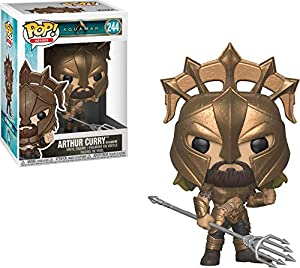 FUNKO Pop Heroes: Aquaman - Arthur Curry (as Gladiator) Figuras coleccionables Niños - FiFiguras de acción y colleccionables (Multi, Figuras coleccionables, Series de TV y cine, Niños, Aquaman, Arthur Curry, Vinilo)
