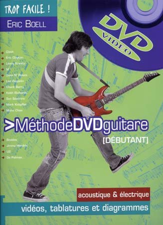 Trop facile methode guitare + DVD